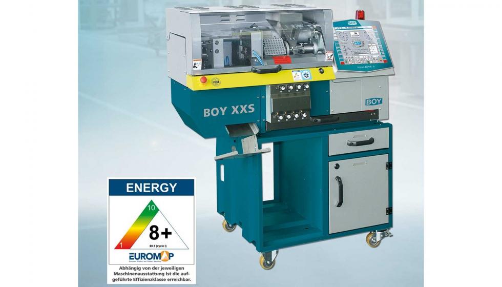 BOY XXS, una inyectora de sobremesa para alta producción